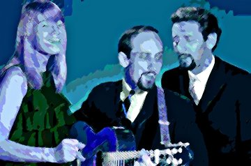 Peter, Paul And Mary 2015 Limited Edition Print - Neal Doty