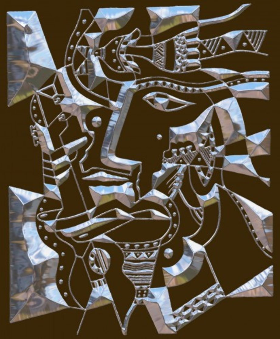 Poet Transformer 2015 20x16 Limited Edition Print by Neal Doty