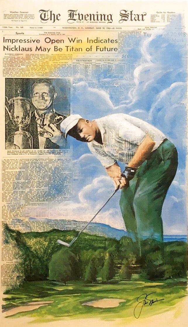 Jack Nicklaus 1994 HS By Jack  Limited Edition Print by Doug London
