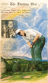 Jack Nicklaus 1994 Limited Edition Print - Doug London