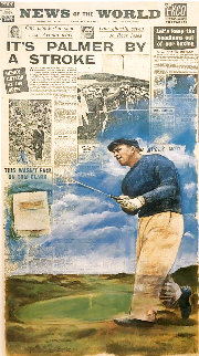 Arnold Palmer - Dubbing of the King (Royal Birkdale) Limited Edition Print - Doug London