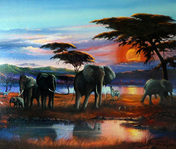 African Memory AP 2006 Limited Edition Print - Lionel Dougy