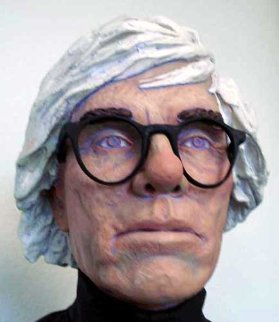 Andy Warhol Life Size Sculpture by Jack Dowd 2007 Sculpture - Jack Dowd