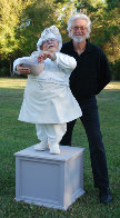 Singing Chef 3/4 Life Size Sculpture 2009 Sculpture by Jack Dowd - 0