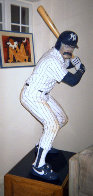 Bases Loaded (New York Yankees) Hyrdocal Life Size Sculpture 1990 76 in Sculpture by Jack Dowd - 1