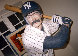 Bases Loaded (New York Yankees) Hyrdocal Life Size Sculpture 1990 Sculpture by Jack Dowd - 2