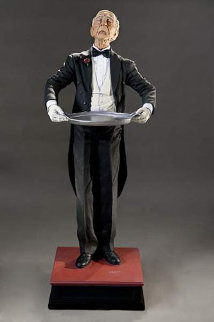 Bentley The Butler Sculpture 2009 Sculpture - Jack Dowd