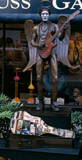 Earth Angel Bronze Sculpture (Street Performer) 2010 Sculpture by Jack Dowd
