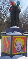 Happy Birthday Andy (Triple Andy) Installation Sculpture Sculpture by Jack Dowd - 0