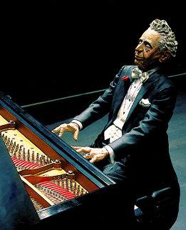 Arturo (Pianist) Sculpture 2010 Sculpture by Jack Dowd