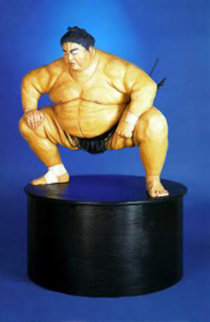 Yokozuna Resin Sculpture 2000 72x60 Sculpture by Jack Dowd