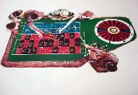 Gamblers Suite: Croupier Limited Edition Print by John Doyle - 0