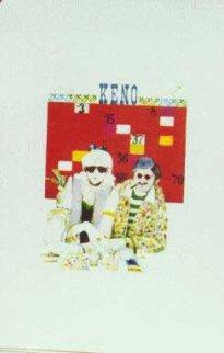 Gamblers Suite:Keno & Twenty One Set of 2 Limited Edition Print - John Doyle