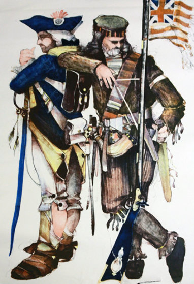 Gamblers Suite: Sharpshooter / Continential Set of 2 Limited Edition Print by John Doyle
