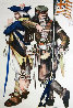 Gamblers Suite: Sharpshooter / Continential Set of 2 Limited Edition Print by John Doyle - 0
