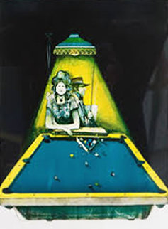 Gamblers Suite: Pool Players  Limited Edition Print - John Doyle