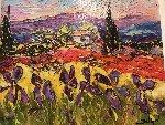 Paysages Au Iris    Limited Edition Print -  Duaiv