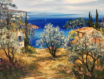 Riviera Dream 1998 35x41 Original Painting -  Duaiv