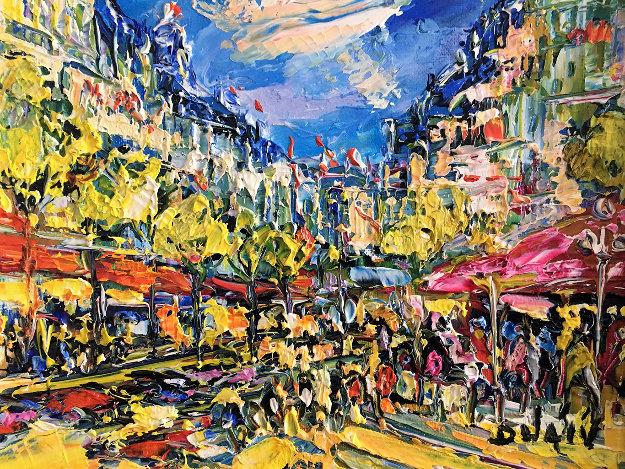 Small Paris 15x17 by  Duaiv