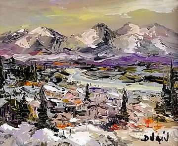 Colorado 2014 17x18 Original Painting -  Duaiv