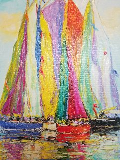 Les Voiles Verticales 2018 Embellished Limited Edition Print -  Duaiv