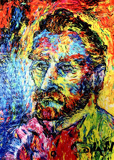 Van Gogh Visage 2018 Embellished Limited Edition Print by  Duaiv