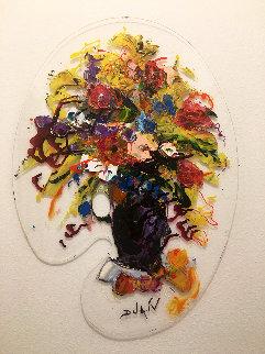 Palette Flowers 2020 24x17 Original Painting -  Duaiv