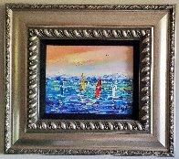Les 4 Planches 2015 15x19 Original Painting by  Duaiv - 1