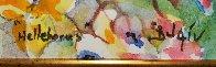 Helborus Flower Watercolor 2016 19x17 Watercolor by  Duaiv - 3