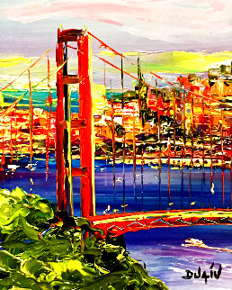 La Californie 2014 20x18 Original Painting by  Duaiv