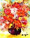 Fleurs Relief 2014 20x18 Original Painting by  Duaiv - 0