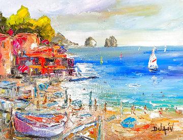 Capri Beach 2013 24x26 Original Painting -  Duaiv