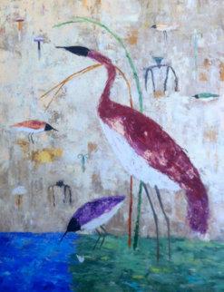 Javan Highland 1991 Original Painting - Valentina DuBasky
