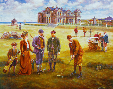 St. Andrews Golf Course Limited Edition Print - Lee Dubin