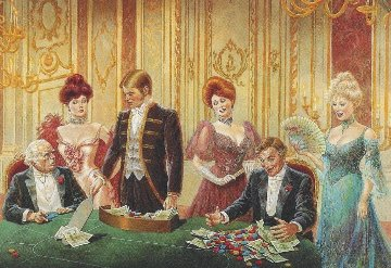 Baccarat 1987 Limited Edition Print by Lee Dubin