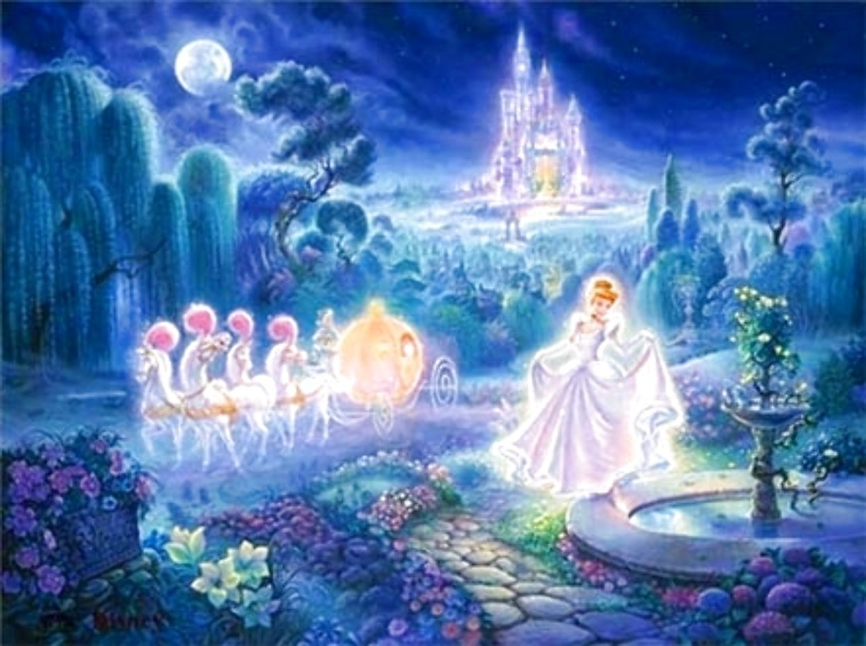 Cinderella: An Evening of Magic Limited Edition Print by Tom duBois