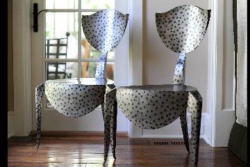 Paris Chairs - Set of Two By A.d. Decorative Arts Ltd. Sculpture - Andre Dubreuil
