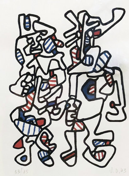 Parade Nuptiale 1973 Limited Edition Print by Jean DuBuffet