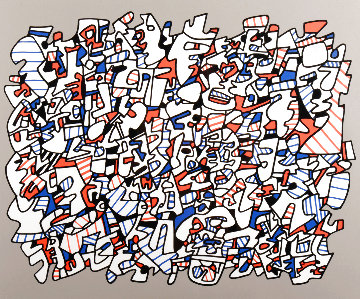 Ontogenese 1975 Limited Edition Print - Jean DuBuffet