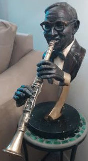 Benny Goodman Bronze Sculpture 1992 27 in  Sculpture - Ed Dwight