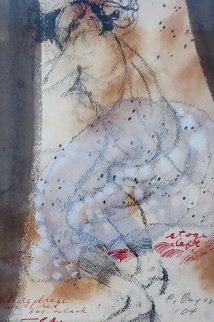 Stage Left Drawing 17x14 Drawing by Charles Dwyer