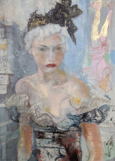 Behind the Scenes 2004 38x32 Original Painting by Charles Dwyer
