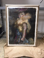 In Her Sights Painting 1999 48x36 Super Huge Original Painting by Charles Dwyer - 1