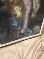 In Her Sights Painting 1999 48x36 Super Huge Original Painting by Charles Dwyer - 5