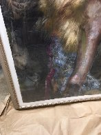 In Her Sights Painting 1999 48x36 Super Huge Original Painting by Charles Dwyer - 4