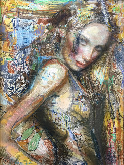 Cossette 2014 66x54 Original Painting - Charles Dwyer