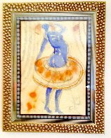 Smurfette Watercolor 2003 Watercolor by Charles Dwyer - 1