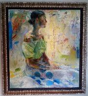 Scientific Tailor 2000 78x73  Huge Original Painting by Charles Dwyer - 1