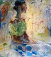 Scientific Tailor 2000 78x73  Huge Original Painting by Charles Dwyer - 0