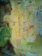Scientific Tailor 2000 78x73  Huge Original Painting by Charles Dwyer - 2